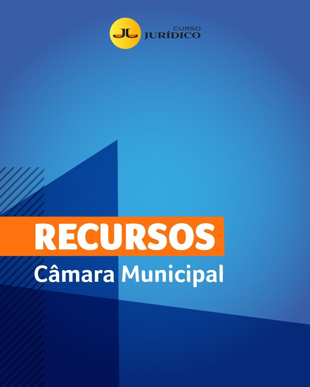 Recursos: ANALISTA - CÂMARA MUNICIPAL DE CURITIBA