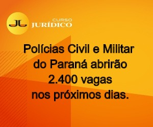Polícias Civil e Militar do Paraná abrirão 2.400 vagas nos próximos dias