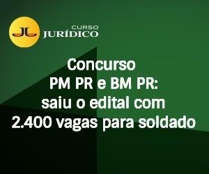 Concurso PM PR e BM PR: saiu o edital com 2.400 vagas para soldado